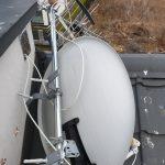 Uszkodzenia anteny spwodowane wiatrem